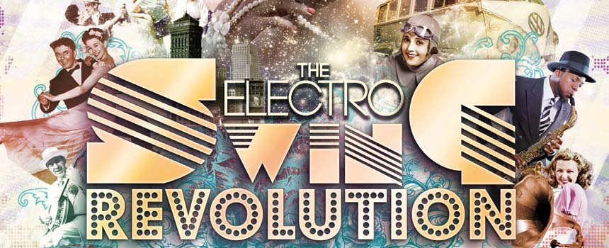Sa 11.1. Electro Swing Revolution Party mit DJ Louie Prima (bln)